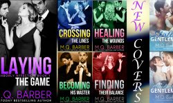 New covers for Neighborly Affection and Gentleman series books by M.Q. Barber