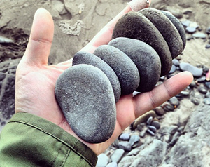 Skipping stones is one way to write a novel. No, really.