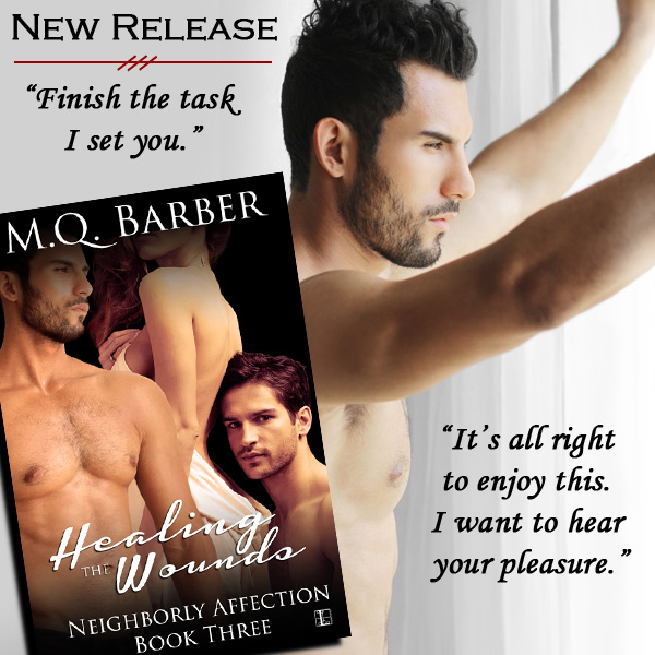 Healing the Wounds (Neighborly Affection #3) release day teaser of Henry