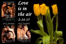 Love Is in the Air book signing event with M.Q. Barber