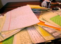Itty-bitty bursts of creativity all gathered in a pile.