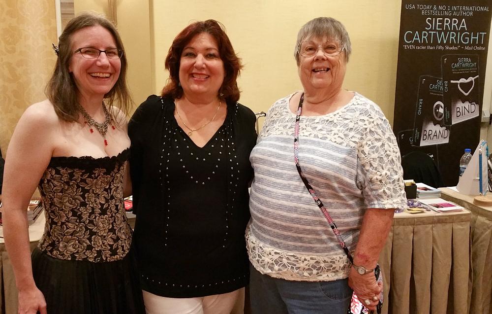 A trio of authors